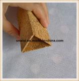 Corcho y sostenedor lavable de la pluma del triángulo del papel de Kraft