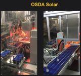 TUV/CE/Mcs/IECの証明書が付いている140W黒いモノクリスタル太陽電池パネル