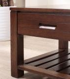Tabela moderna da gaveta da mobília da sala de visitas da madeira de carvalho (MX 2003)