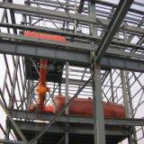 Gruppo di lavoro pesante a tre livelli della struttura d'acciaio per uso chimico