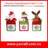 Decoración del regalo de la orejera de la Navidad de la decoración de la Navidad (ZY14Y166-1-2-3)
