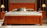 Festes hölzernes Bett-moderne Auslegung-populäres erwachsenes hölzernes Bett (M-X2069)