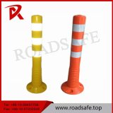 Poteau d'amarrage d'avertissement de dessinateur flexible de poste de ressort d'unité centrale de route