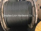 철사 로드 크기 9mm /Steel 철사 또는 철강선 밧줄 못 생성