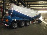 Semi-remorque de camion-citerne de la colle en vrac de faible densité de 3 essieux