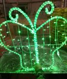 2015 nouveau Design 2D Colorful DEL Butterfly Light pour Mall Decoration