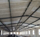 Estrutura de aço leve Fibra de vidro Sanduíche Painel Frango Fazenda / Casa