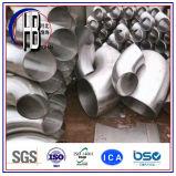 Codo inconsútil de los Ss de la instalación de tuberías de acero inoxidable