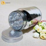 Glasmaurer-Glas mit galvanisierender silberner Farbe und Kappe