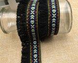 Frange élégante en gros de lacet de gland de 3.5cm pour des accessoires de literie