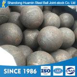 bille en acier de meulage modifiée par densité résistante à l'usure de 140mm pour le mien
