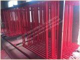 Frame van uitstekende kwaliteit van het Werkende Platform H van de Steiger van het Frame van de Metselaar het Mobiele