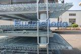 Свертывая контейнер ячеистой сети стога складывая