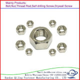 Noix Hex de l'acier inoxydable DIN934 avec le prix bas de qualité