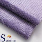 Tessuto del jacquard del velluto a coste del cotone per vestiti (SRSC 305)