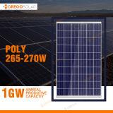 중국에 있는 최고 가격을%s 가진 고품질 태양 전지판 265W 270W