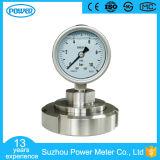 """2.5 """" le ce de joint de l'indicateur de pression de joint de membrane de 63mm solides solubles 316L a reconnu"""