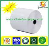 Het maagdelijke Papier van de Fax van de Hoogste Kwaliteit 52GSM van de Pulp Thermische