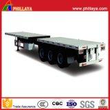 De China 20FT 40FT de recipiente do transporte do caminhão reboque Flatbed Semi