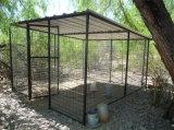 Гальванизированная загородка собаки ячеистой сети Wleded заполненная напольная