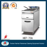 1 friggitrice elettrica del cestino del serbatoio 2 con il Governo (HEF-70A)