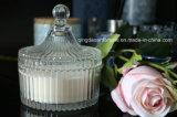 Heißes Verkaufs-Luxuxglas gerochene Glas-Kerze mit Geschenk-Kasten-Verpackung für Hochzeit und Hauptdekor
