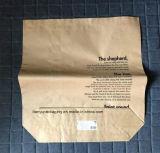 De Zak van de Kruidenierswinkel van het Document van Kraftpapier van de Zak van de voorraad