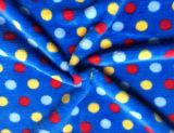 Tissu de flanelle de qualité pour la couverture, le vêtement de bébé et le peignoir (SR-F170305-16)