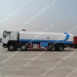 Tipo caminhão de HOWO 371HP 8X4 de petroleiro do transporte do combustível 30000 litros