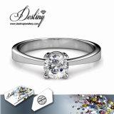 Het Kristal van de Juwelen van het lot van de Briljante Ring van het Liefje Swarovski