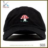 6 chapéus afligidos do paizinho do painel boné de beisebol não organizado