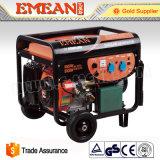 générateur silencieux d'engine de générateur de l'essence 5kVA/5kw