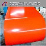 Le zinc de Dx52D a enduit la bobine en acier galvanisée enduite d'une première couche de peinture PPGI