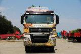 Carro del camión del carro del alimentador de HOWO 6*4 CNG