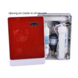 빨간색과 가정 사용을%s 조밀한 RO 물 정화기