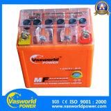 Bateria elétrica da motocicleta 12V2.5ah Manutenção Bateria grátis da motocicleta