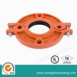 Rotes Beschichtung-flexibles duktiles Eisen-Grooved Kupplungen