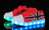 형식 LED 단화를 달리는 남녀 공통 LED 가벼운 백색 스포츠 단화 놀 운동화