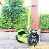 Scooter eléctrico con Two Wheel Stand para arriba
