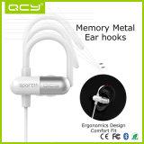 Estilo de encargo Bluetooth Earbuds del gancho de leva del oído del auricular de la insignia