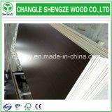 el grano de madera de 15m m papel de la melamina de ambas caras hizo frente al conglomerado