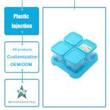Contenitore di alimento di plastica di conservazione trasparente personalizzato del contenitore dello stampaggio ad iniezione di articoli per la tavola di plastica dei prodotti