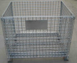 セリウムApproved FoldingおよびStackable Storage CageまたはGalvanized Wire Mesh Container