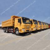 炭鉱のためのSinotruk HOWO 6X4のディッパーかダンプトラック