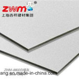 Панель смеси Материал-Алюминия здания серебряного серого цвета