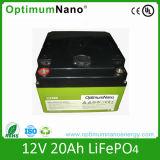 De hete Batterij van de Verkoop 12V 20ah LiFePO4 de IonenBatterij van het Lithium van 12 Volt