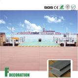 Plancher composé de Decking de faisceau solide de WPC