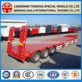 3-assen 17.5m Stretchable Gooseneck Semi Aanhangwagen van Lowbed