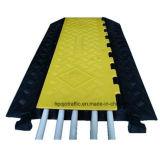 De gele Achterdelen Pjcc117 van de Bescherming van de Kabel van de Basis van de Dekking Rubber