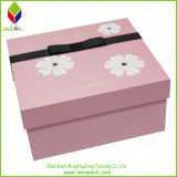 Regalo de la impresión de la flor de la moda caja de cosméticos para Limpiadora Facial